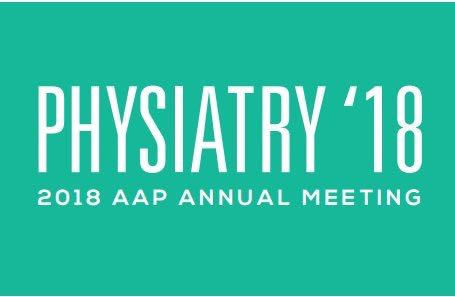 AAP Physiatry '18 Association of Academic Physiatrics March 13-17, 2018