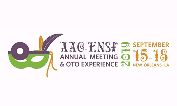 AAO-HNSF Annual Meeting & OTO <br> Sept 15-18 2019