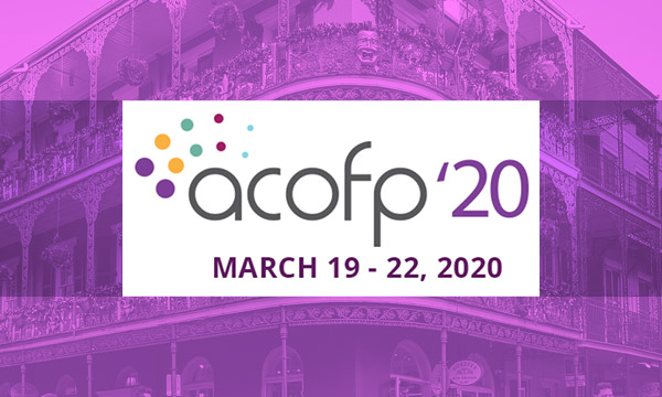 ACOFP American College of Osteopathic Family Physicians<br>March 19-22 2020