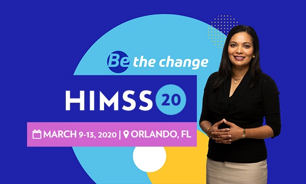 HIMSS<br>March 9-13 2020